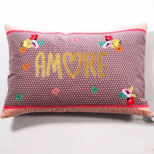 Kissenhülle Amore 4060 Samt 100ProzentBaumwolle 40x60 cm 02