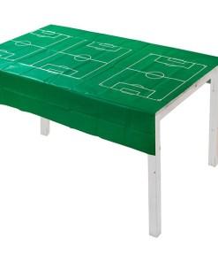 Papiertischdecke Motiv Fussballfeld Beispielbild