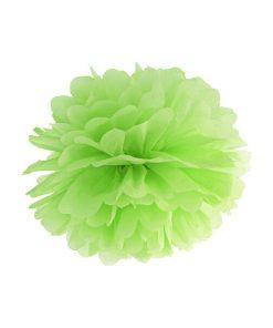 Pompom, Seidenpapier, green apple, 25cm