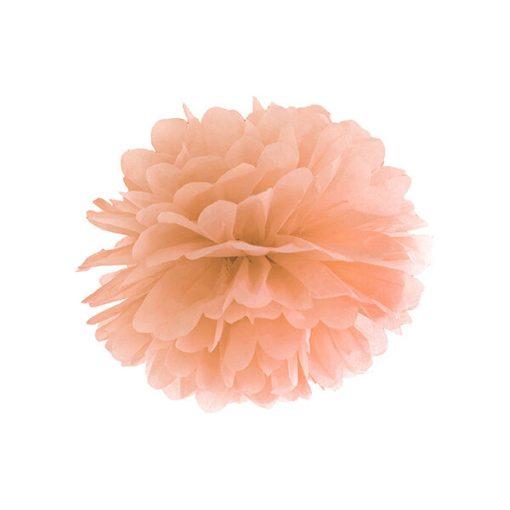 Pompom, Seidenpapier, light peach, 25cm