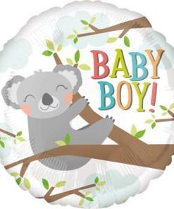 45cm Rund Koala Boy