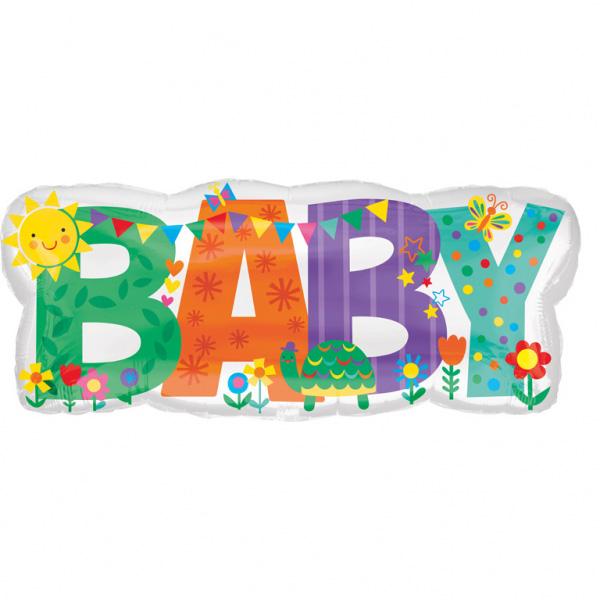 Baby Schriftzug B83cm