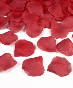 Blütenblätter Rose, rot, 100er Packung