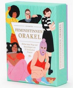 Feministinnen-Orakel, Lebenshilfe und Inspiration, 50Karten, 120x160x50mm Cover Perspektive 2