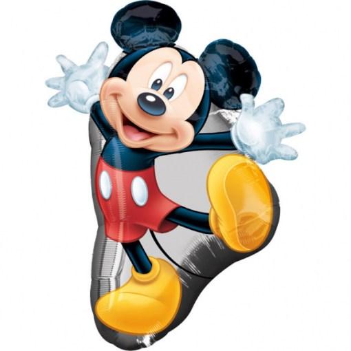 Mickey Mouse winkend, Folienballon, 55cm x 78 cm