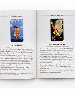 Tarot_fuer_jedes_Alter, 78 Karten, Booklet, 108 x 160 x 55mm, Booklet Beispiel