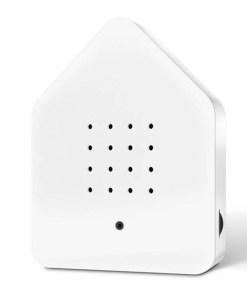 Zwitscherbox Weiß B 110 x H 145 x T 35mm Plexiglas Front