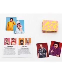 Drag Match, Finde den Vorher-Nachher-Look, Memo-Spiel, 40 Karten, 144x100x47mm, Karten und Booklet