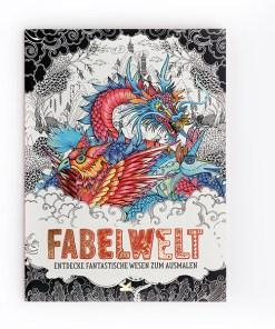 Fabelwelt, Ausmalbuch, Paperback, 64 Seiten, Gr 210 x 289mm, Cover 1