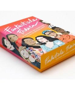 Fantastische Frauen, Kartenspiel, Box, 32 Karten, 119x158x40mm, Box seitlich links