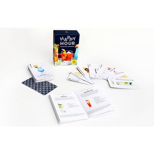 Happy Hour, Ein Cocktail-Spiel, Box, 52 Karten, 100x140x50mm, Uebersicht 2