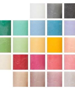 Weizenkorn Kerzenfarben ice im Shop 2021