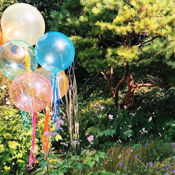BALLONI Bubbles im Garten