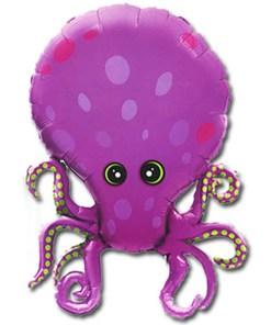 Oktopus, Folienballon, H 80cm