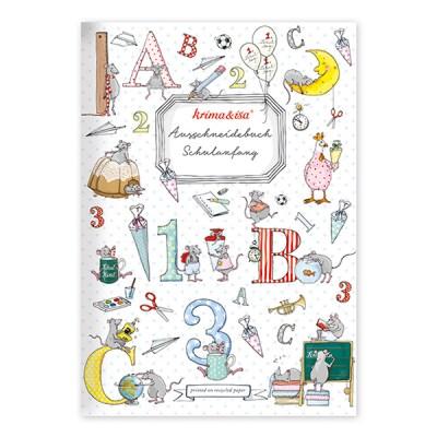 Ausschneidebuch Schulanfang, A4