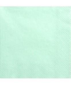 Servietten, mint, 20 Stk., 33 x 33cm