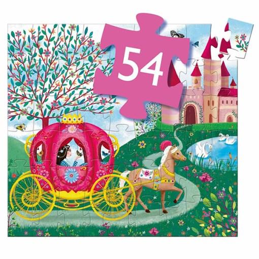 Puzzle ''Kutsche der Elise'', 54 Teile, 40 x 37 cm, Anzahl Teile