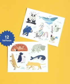 Tattoos ''Tierbabys'', 12 Tattoos
