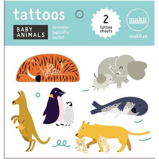 Tattoos ''Tierbabys'', Seite 1