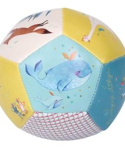 Weicher Ball ''Le voyage d'Olga'', PVC, D 10 cm, Seitenansicht 1