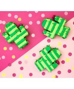 Mini-Pinata Kaktus, gruen, 9,5 x 11,5 x 3,5 cm, Dekobeispiel