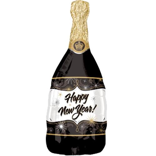 Happy new year heliumballon
