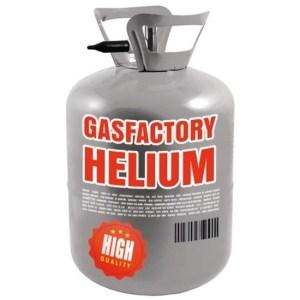 Helium gas tankje voor 30 ballonnen