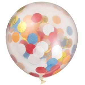 HEMA 6-pak Confetti Ballonnen (multi)