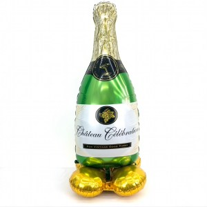 Champagner für Alle! mit Standfuß 150 cm