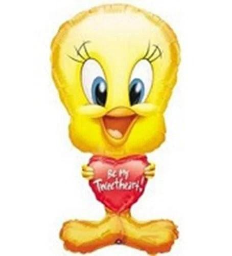 Μπαλόνι Tweety με κόκκινη καρδιά 'Be my tweetheart'