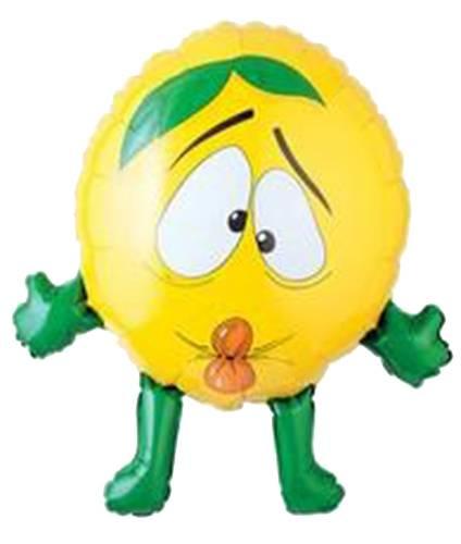 Μπαλόνι Λεμόνι με χέρια και πόδια