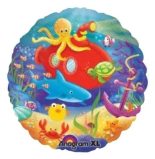 Μπαλόνι στρογγυλό Θαλάσσια ζωή