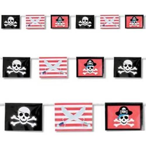 Σημαιάκια για διακόσμηση με πειρατές