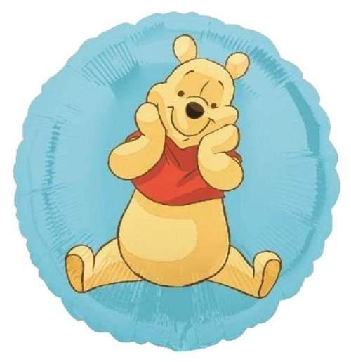 Μπαλόνι Winnie the pooh γαλάζιο