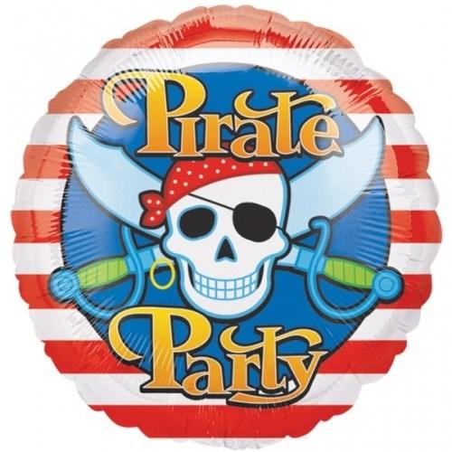 Μπαλόνι Pirate Party με νεκροκεφαλή