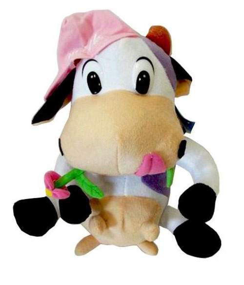 Λούτρινη αγελαδίτσα με καπέλο σε 3 χρώματα