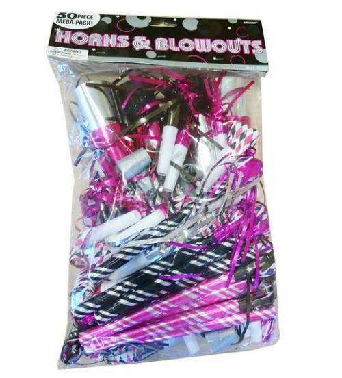Blowouts και κόρνες Bachellor (50 τμχ)