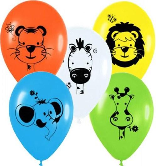 Μπαλόνι τυπωμένο άγρια Ζωάκια