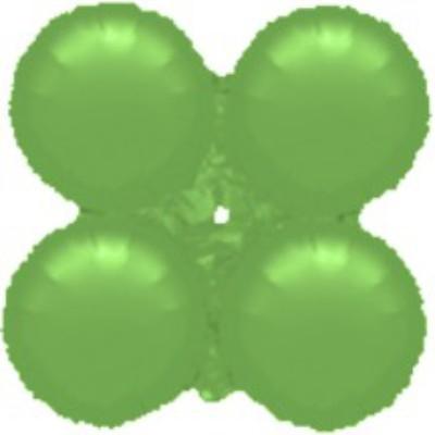 Μπαλόνι Λαχανί 4πλο για γιρλάντα