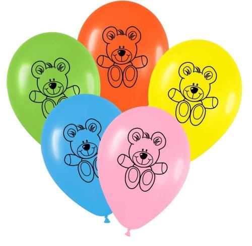 """12"""" Μπαλόνι τυπωμένο Αρκουδάκι"""