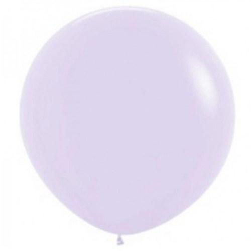 90cm - 36'' Λιλά μεγάλο μπαλόνι