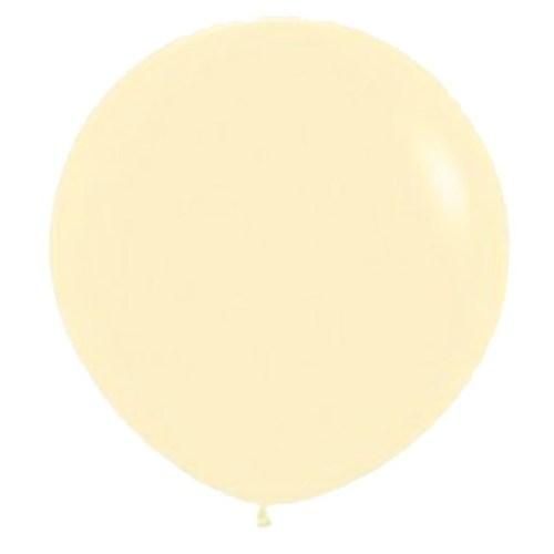 90cm - 36'' Ιβουάρ μεγάλο μπαλόνι