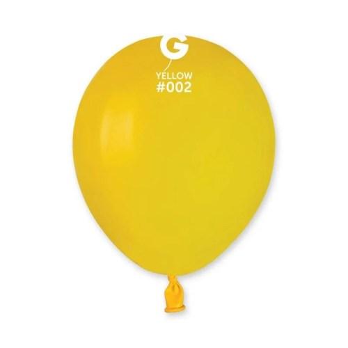 5'' Κίτρινο λάτεξ μπαλόνι