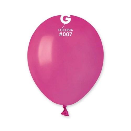 5'' Φούξια λάτεξ μπαλόνι