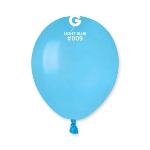 """5"""" Γαλάζιο λάτεξ μπαλόνι"""