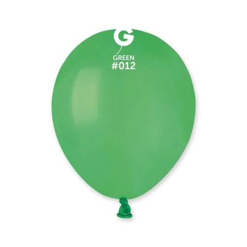 5'' Πράσινο λάτεξ μπαλόνι