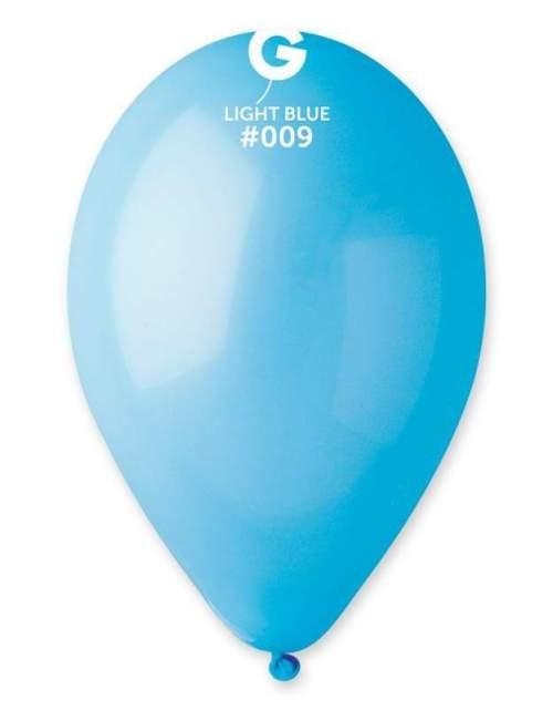 12'' Γαλάζιο λάτεξ μπαλόνι
