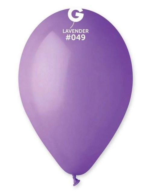 """12"""" Λεβάντα λάτεξ μπαλόνι"""