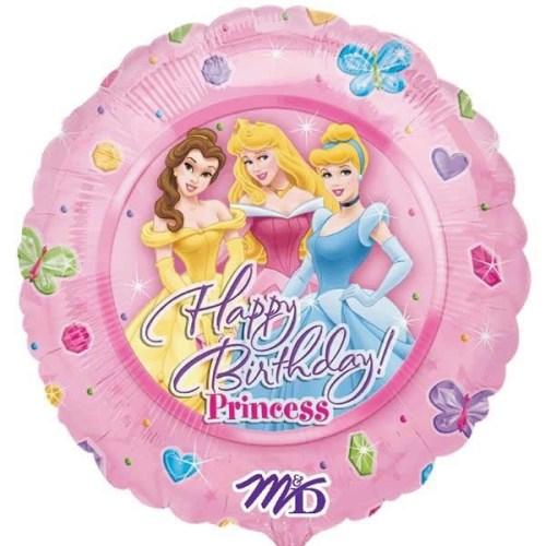Μπαλόνι Πριγκίπισσες Disney Happy Birthday