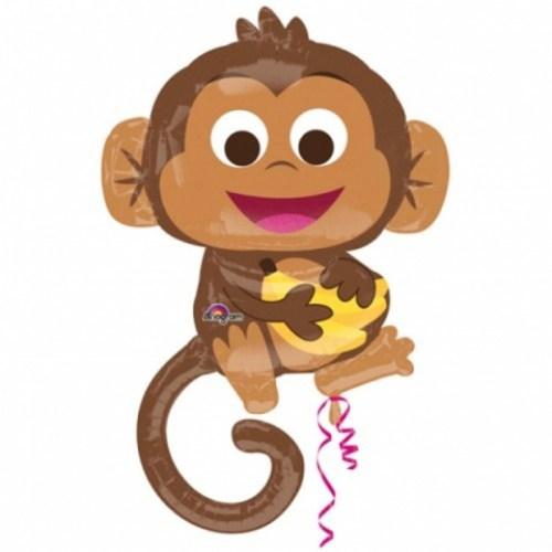 Μπαλόνι χαρούμενη Μαϊμού 91 εκ